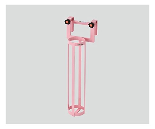 ナビス(アズワン)0-2396-02酸素ボンベラック(ベッド用)ピンク B07BD2WQKN