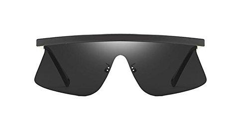 cercle retro Lennon Grise polarisées de inspirées Complète du lunettes soleil métallique style Pièce vintage en rond TvpCxS