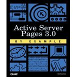 Active Server Pages 30 by Example (00) by Reselman, Bob [Paperback (2000)] pdf
