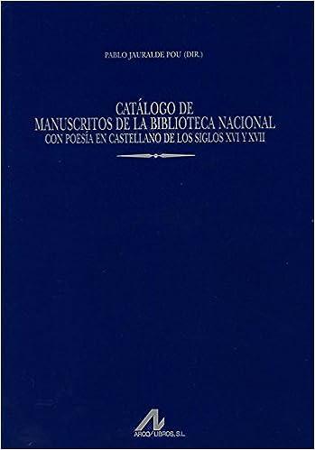 Catálogo de Manuscritos de la Biblioteca Nacional con poesía en ...