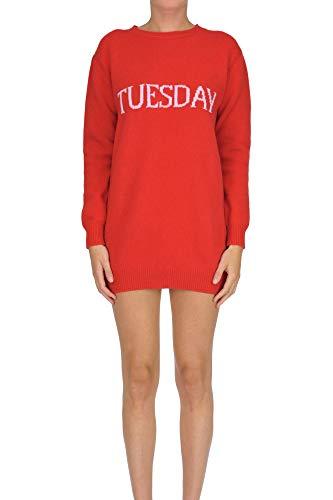Alberta Ferretti Women's Mcglvs0000006126i Red Wool -