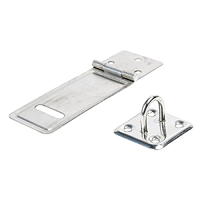 uxcell Stainless Steel Door Lock Striker Latch Catch Bolt Hasp Staple Set