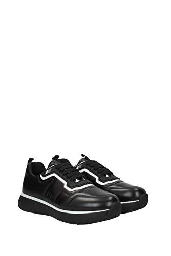 3E6321NAPPA3 Noir Prada Femme EU Sneakers Cuir 0qt1Y