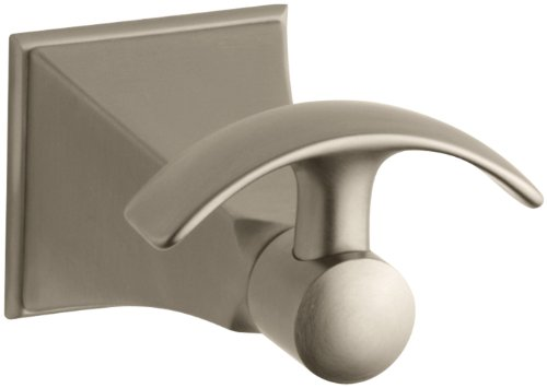 KOHLER K-492-BV Memoirs Robe Hook with Stately Design, Vibrant Brushed Bronze by Kohler (Image #2)
