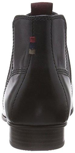 Chelsea Bottes Femme Courtes Noir Antique Doublure Froide Tamaris 25353 qwz65PER