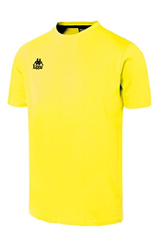 Kappa t shirt BambinoUomoGialloL Kappa shirt shirt Lucera Lucera Kappa t Lucera t BambinoUomoGialloL b7gYf6yv