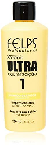 Xrepair Ultra Cauterização Shampoo 250 ml, Felps, 250ml