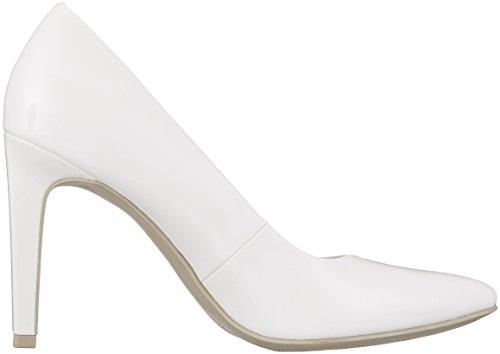 Mujer Marco Patent white De Tozzi22415 Blanco Zapatos Tacón wTOIBT
