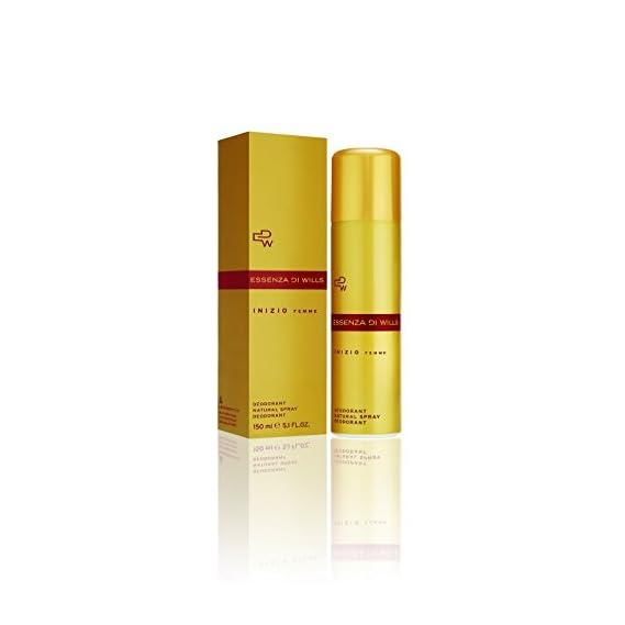 Essenza Di Wills Inizio Femme Deodorant for Women, 150ml and Ignite Bathing Bar for Women, 100g