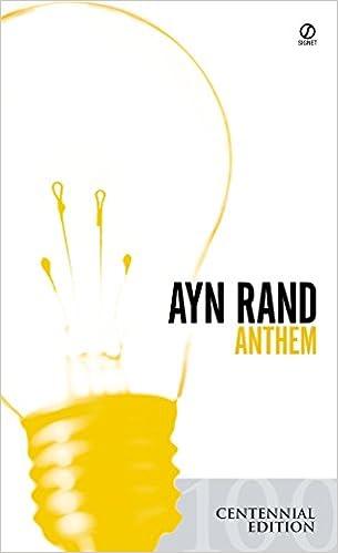 Anthem Rand Ayn Peikoff Leonard 9780451191137 Amazon Com Books