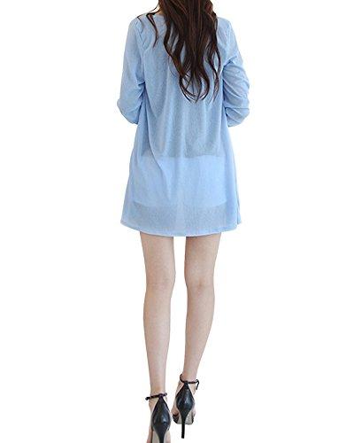 DAILY NJ【ag01】【ノーブランド品】 ロングカーディガン オールシーズン使える 春夏 UVカット ロングカーディガン アウター 肌触り リゾート 旅行などにぴったり 涼しい 最新韓国ファッション