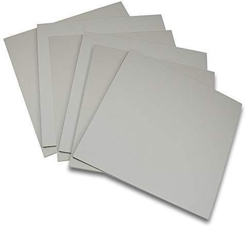 전함 회색 전통 조각 인쇄 스튜디오 6 팩 회사 시트 마운트 해제 아티스트 판화 아트 도구 세트(4X6)