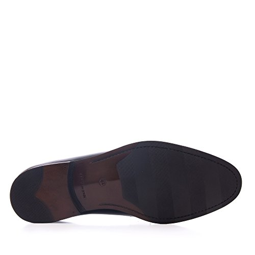 Blucher SwaZpa En Chaussures Cuir intellect Noir Castellanisimos qwCAtXHAxP