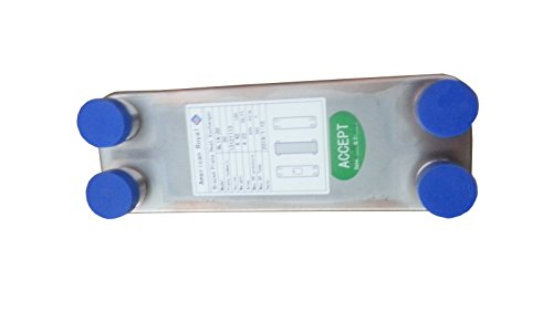 30 Plate Small Water to Water Heat Exchanger 3/4