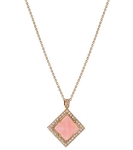 Fable Par Didi Pyramid pendentif Opale rose