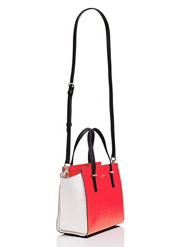 Bag Handle Hayden and White Top Red kate Small york Black spade new Cedar Street q84zqw