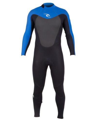 Rip Curl Omega Back Zip 3/2 FL Wetsuit, Blue, XX-Large (Rip Curl Flash Bomb Wetsuit)