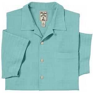 Montego mens textured silk camp shirt closeouts at amazon for Mens silk shirts amazon