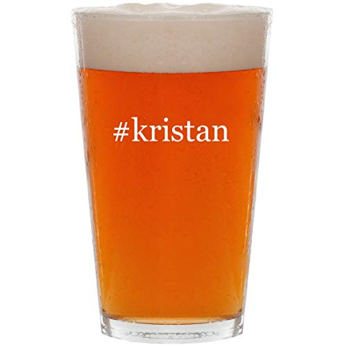 Price comparison product image #kristan - 16oz Hashtag Pint Beer Glass