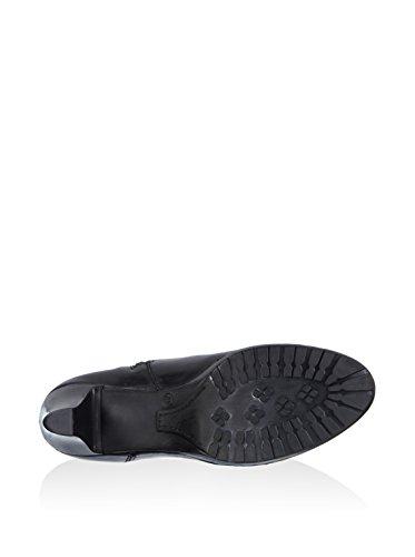 Tamaris 2556 - botas de cuero mujer Negro