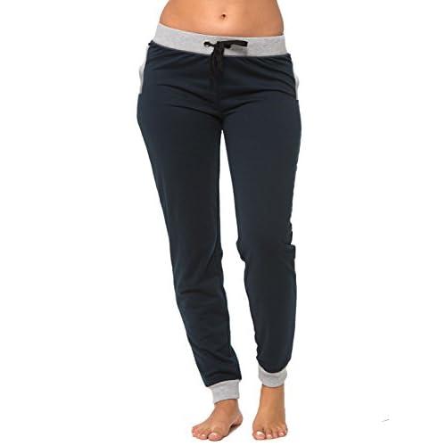 c206d440a0 best Coco-Limon Jogger Pants for Women, Long Fleece Sweatpant, Side ...