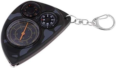 Sharplace 1 Pieza Compacta Multifunción Llavero Termómetro ...