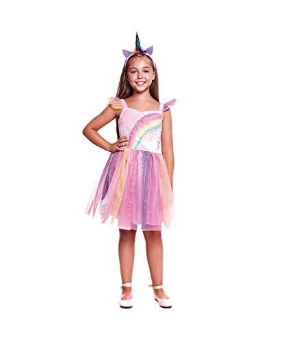MultishopVA Disfraz Unicornio Rainbow para niña Varias Tallas (4-6 ...