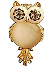 Women Fashion Vintage Owl Pendant Necklace and Long Chain Alloy Rhinestone Pendant Gift for Women Girls Golden 1PC Strong and Sturdy for Birthday Party Supplies