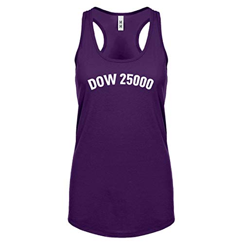 Indica Plateau Racerback Dow 25000 XX-Large Purple Womens Tank ()