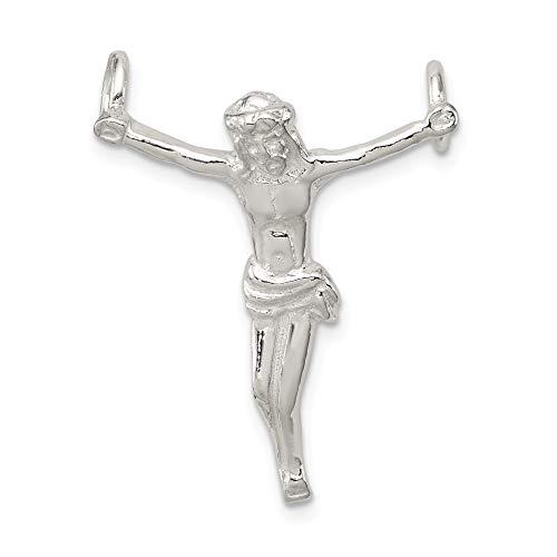 Corpus Crucified Christ Pendant - Bonyak Jewelry Sterling Silver Corpus (Crucified Christ) Pendant