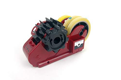 - Brilliant Tape Dispenser - Semi Auto Cutting Tape Cutter Dispenser (Standard, Red)