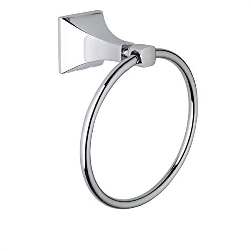 Rohl ML4 Matheson 6'' Towel Ring, Polished Chrome