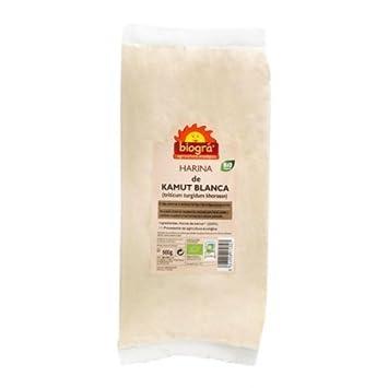 ijsalut - harina kamut blanca bio biogra 500 gr: Amazon.es: Salud y cuidado personal
