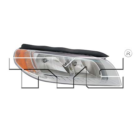 CarLights360: Fits 2008 2009 2010 2011 2012 Volvo S80 Headlight Assembly Passenger Side (Right) NSF Certified w/Bulbs - Replacement for VO2503123 (Volvo S80 Lens Headlight)