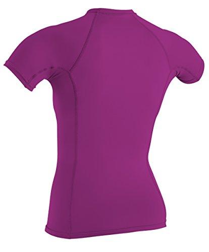 O'Neill UV Sun Protection Women's Basic Skins Short-Sleeve Crew Rashguard Top