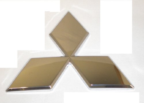 Genuine Mitsubishi Triple Diamond Emblem Chrome Front MR971080 Endeavor 2004 2005 2006 2007 2008 2009 2010 2011
