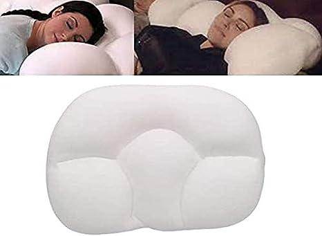 White All-Round Cloud Pillow Sleep Pillow Baby Nursing Pillow,Infant Newborn Sleep Memory Foam Butterfly Shaped Pillow