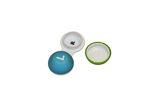 Flents Soft Grip Contact Lens Case-couleurs assorties