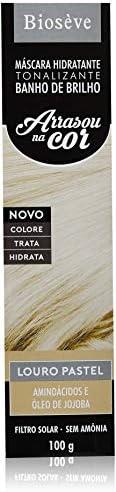 Tonalizante Hidratante Banho de Brilho Louro Pastel, Bioseve, 100 ml