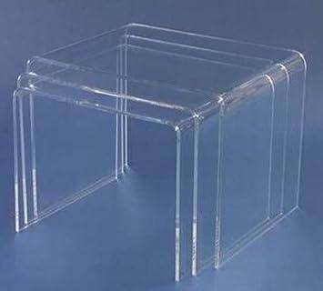Acryltisch Acryl 3 Satz Tisch Acrylglas Plexiglas Neu Amazonde