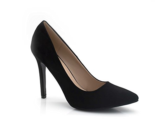 Talon Vélour Escarpin Shoes Femmes Paillete ou Soirée Effet Chaussures Fashion Paillettes Femme Haut Mariage Mariage Fin Vélour Bicolor 10cm Chaussures Talon Noir T1dxwq