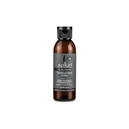 フェイシャルトニック125ミリリットルを明確オイルバランシング x4 - Sukin Oil Balancing Clarifying Facial Tonic 125ml (Pack of 4) [並行輸入品]   B072DXLWW3