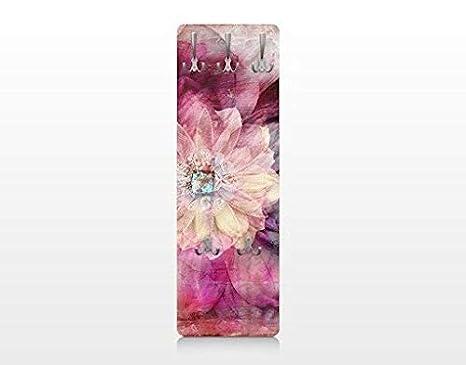 Apalis 67515 - Perchero de Pared Grunge Flower, 139 x 46 cm ...