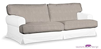 Sylt gris asiento cojín para IKEA EKESKOG sofá de 3 plazas ...