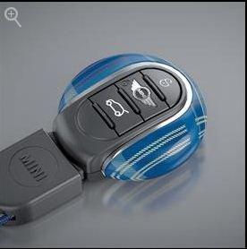 Mini Speedwell Blue Key Fob with NFC Fits 2014-2015 Mini Cooper Hard Tops