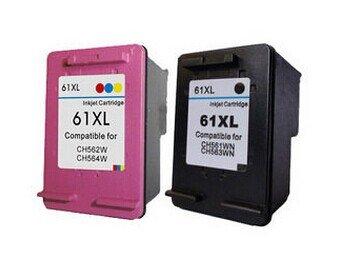 1 Set For HP 61XL CH563W CH564W Ink Cartridge for HP Deskjet 1000 1050 2000 2050 3000 3050 J410a J510a Inkjet Printer part