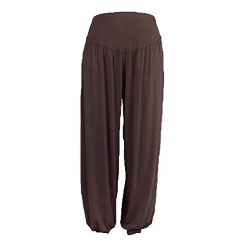 contrôle Leggings Xx pour femme Pantalon d'été ventre cours Violet par en du Culotte Zhrui grand Yoga court Gym taille large Taille Couleur haute Harem dexécution xHFCv