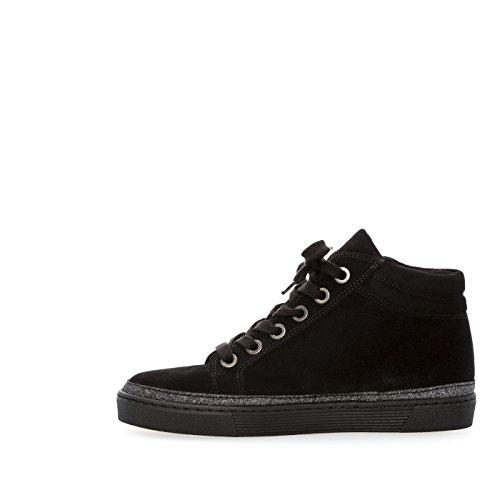 Montantes Sneakers Schw micro Noires glitt UqqZOd