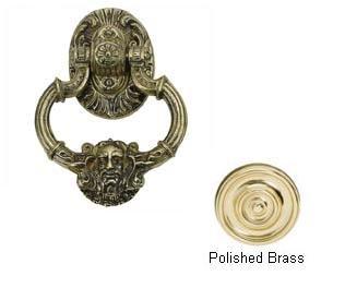 Neptune Door Knocker Finish: Polished Brass
