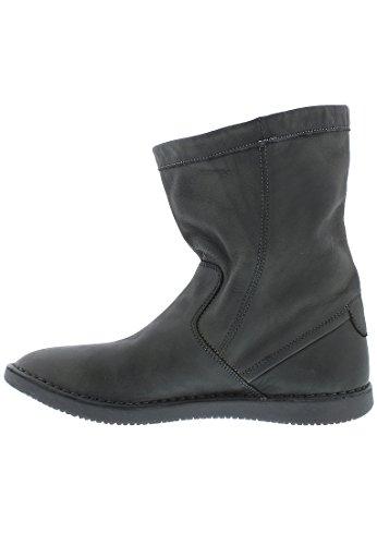 Softinos Damen Til402sof Slouch Boots Grey (militar 001)